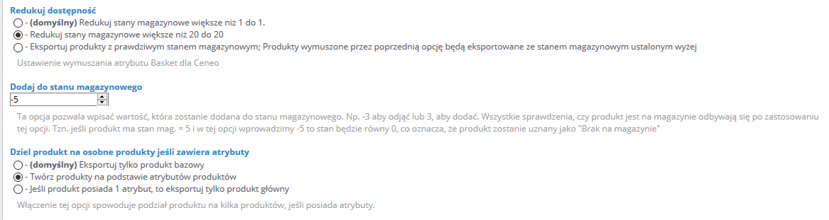 Tak wygląda nowa opcja w Module Pricewars II dla Prestashop